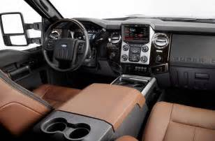 Truck Interior Accessories Ford 2016 Ford F 250 Duty Review Price Specs