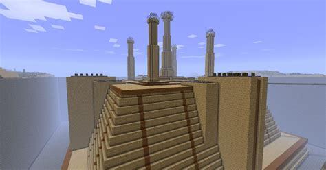 Wall Blueprints Star Wars Jedi Temple Minecraft Project