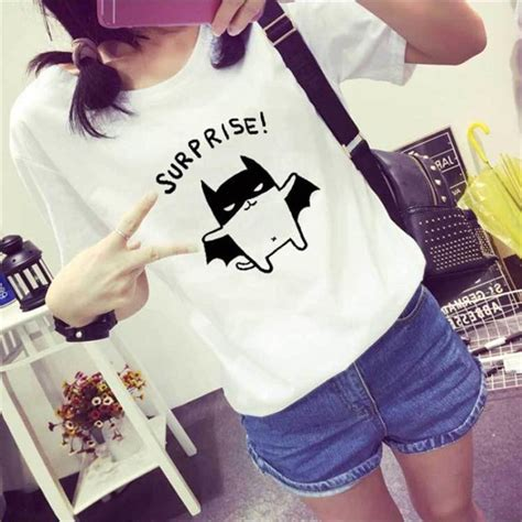 Kaos T Shirt Wanita White Diagonal S Murah Original kaos katun wanita o neck size s white jakartanotebook