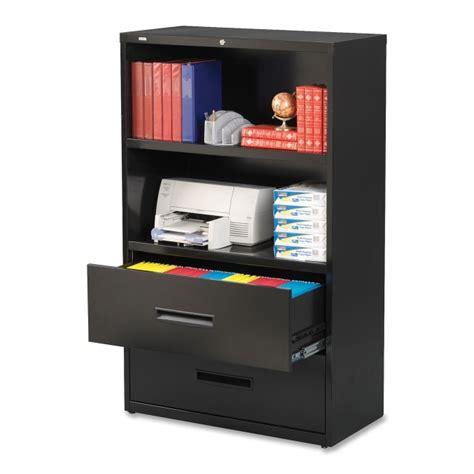 combo lateral file cabinet printer
