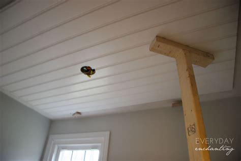 diy beadboard ceiling diy beadboard ceiling