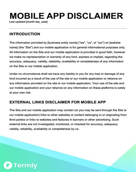 free email disclaimer template email disclaimer template gallery resume ideas