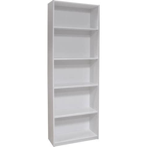 ameriwood 5 shelf bookcase white bobsrugby