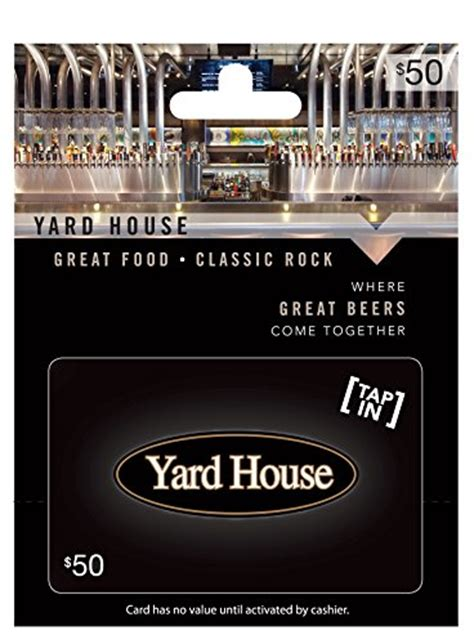 Yard House Gift Cards - yard house 50 gift card arts entertainment party celebration giving cards certificates