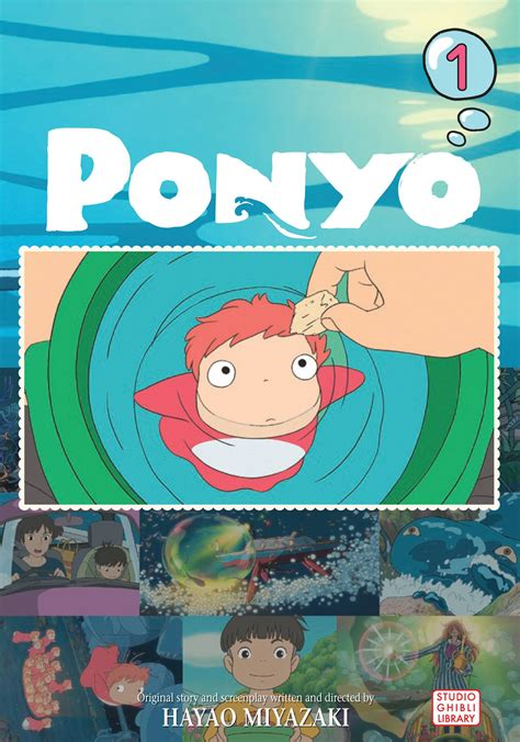 Ponyo Comic Vol 2 ponyo comic vol 1 book by hayao miyazaki