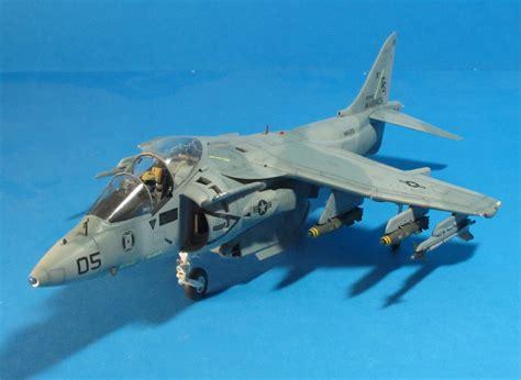 Av 8 Harrier Usmc 1 48 Pro Built Model hasegawa 1 48 av 8b harrier ii