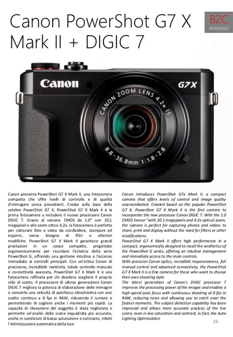 Canon Powershot G7x Ii High Recommended tpc mag march 2016 marzo