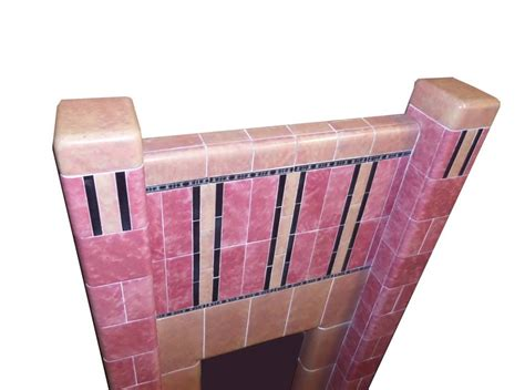 1930s Floor Tiles Reproduction by Antique Deco 1930s Tiled Fireplace