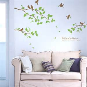 large tree wall stickers birds amp large tree wall decals stickers wallstickery com