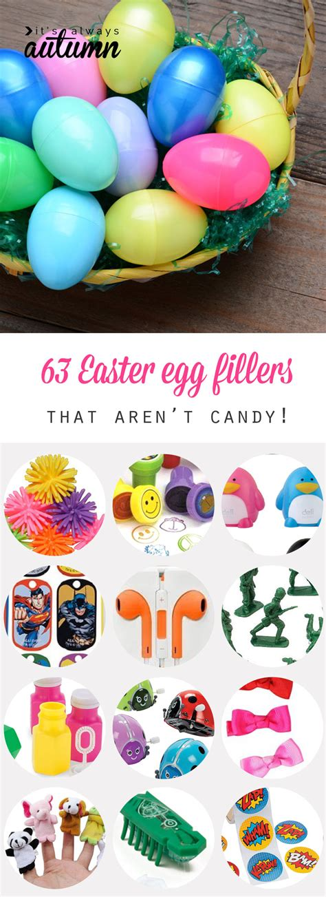 63 fantastic easter egg fillers things to put in easter