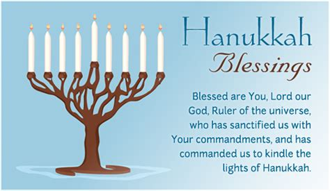 hanukkah candle lighting prayer free hanukkah blessings ecard email free personalized