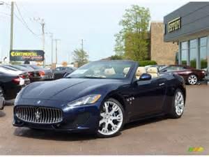 Maserati Granturismo Colors 2013 Oceano Blue Metallic Maserati Granturismo