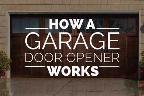 How Do Garage Door Openers Work How A Garage Door Opener Works Nask Doors