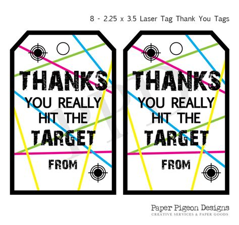 laser printable name tags laser tag party instant download tags laser tag printable
