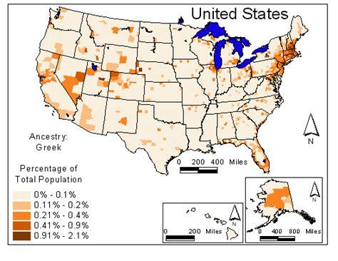 ancestry map usa atlas of minnesota ancestry