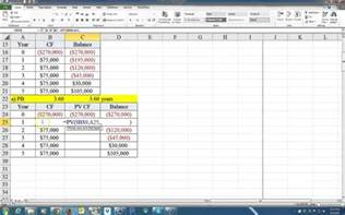 Payback Period Template by How To Calculate The Payback Period And The Discounted