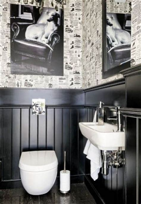 Black Wainscoting Bathroom Pin By Hinkley On My Style