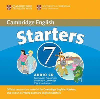 cambridge english starters 1 1316635937 cambridge young learners english tests 7 starters audio cd cambridge esol 9780521173704