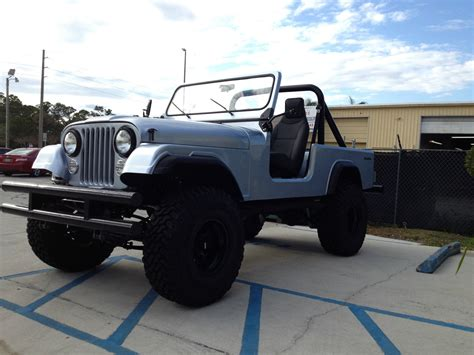 vintage jeep scrambler 1983 jeep scrambler cj8 classic jeep cj 1983 for sale