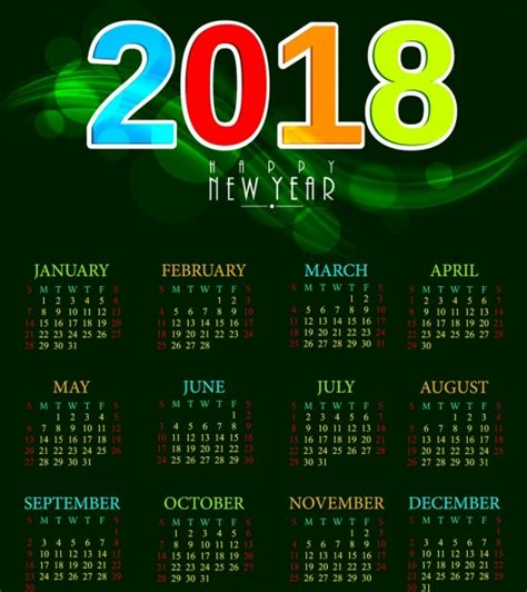 Marshall Islands Calendrier 2018 Calendar 2018 Ai Template 100 Images 2018 Calendar