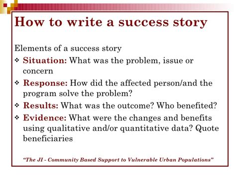 how to write a tale template how to write a success story