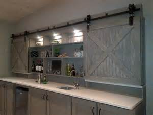 Architectural accents sliding barn doors for the home