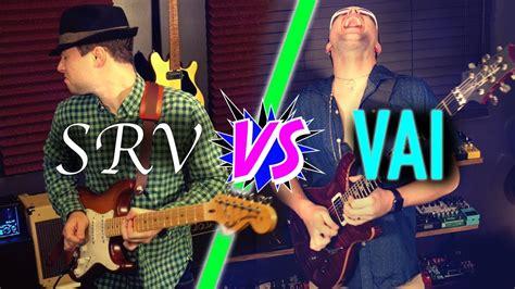 guitar duel steve vai  stevie ray vaughan youtube