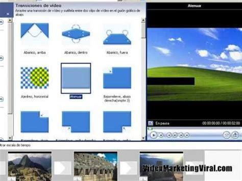 tutorial editar videos windows movie maker video tutorial de movie maker y como editar un video con