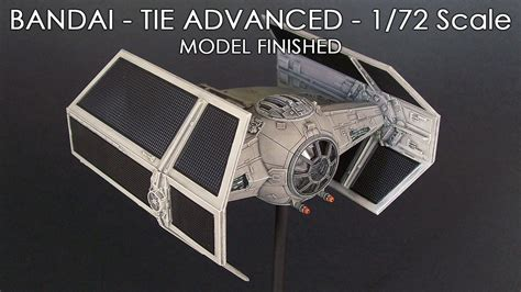 Promo Original Bandai Model Kit Starwars Tie Advance X1 bandai tie advanced 1 72 scale model finished