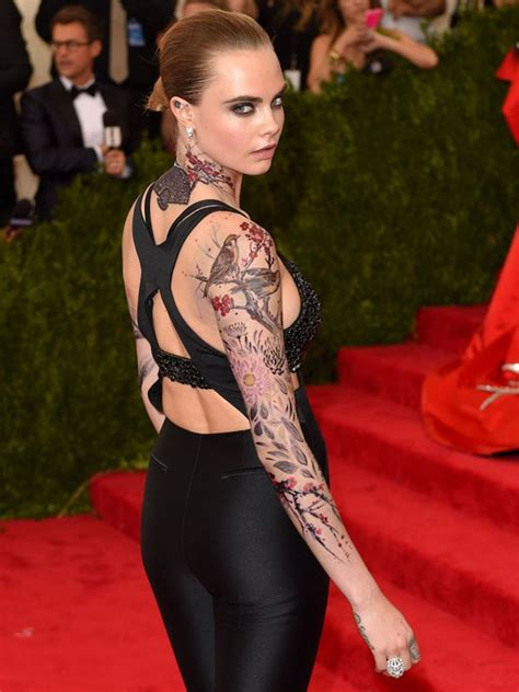 cara delevingne tattoo cara delevingne tattoos meanings a complete tat guide