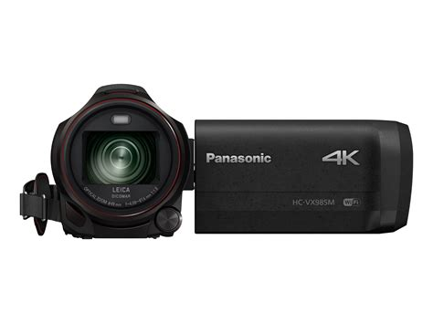 new panasonic 4k panasonic unveils new hd and 4k camcorder range channelnews