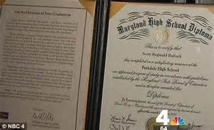 maryland school district gets an f for misspelling program in 8 000 high school diplomas
