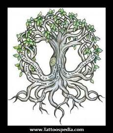 small tree of life tattoo designs small tree of designs