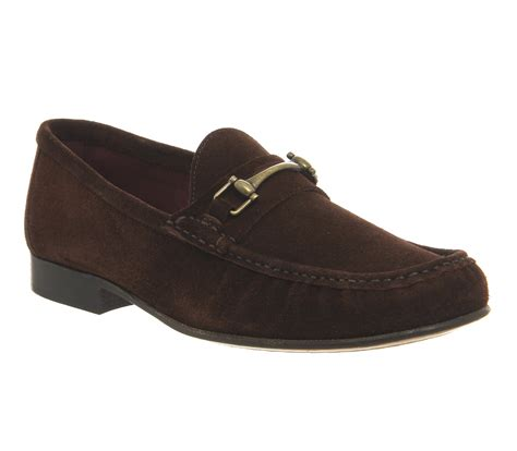 poste bambino loafers brown suede smart