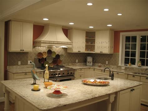 Pinterest Kitchen Lighting White Kitchen With Recessed Lighting Home Pinterest