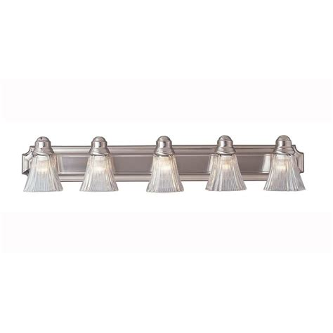 bathroom light bars brushed nickel titan lighting jackson 4 light brushed nickel wall mount