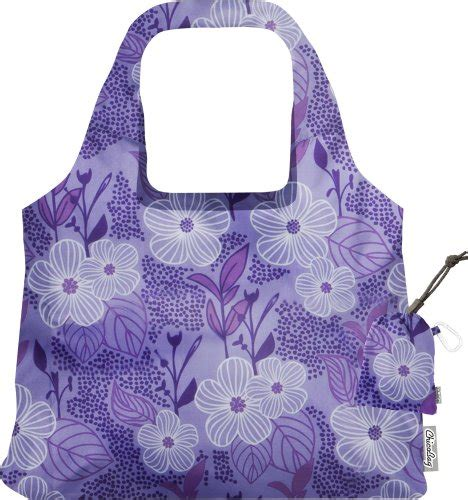 New Features On Bag Bliss by Chicobag Vita Purple Blooms Collection Bag Bliss Sales Up