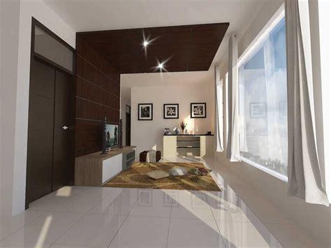 desain ruang tamu lantai  homkonsep
