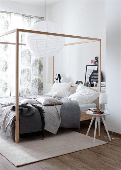 stoff für himmelbett schlafzimmer indisch einrichten