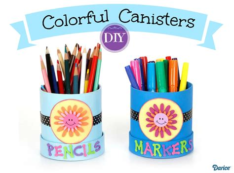 colorful canisters colorful diy paper mache canisters live craft