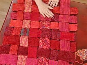 Diy Knit Rug Woven Woolen Rug Diy