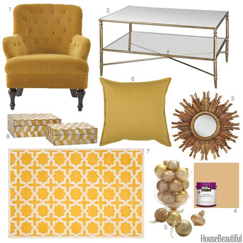 sunburst color accessories gold home decor