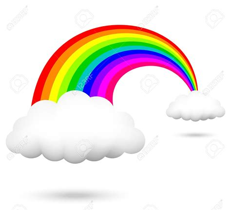 clipart arcobaleno clouds bridge clipart clipground