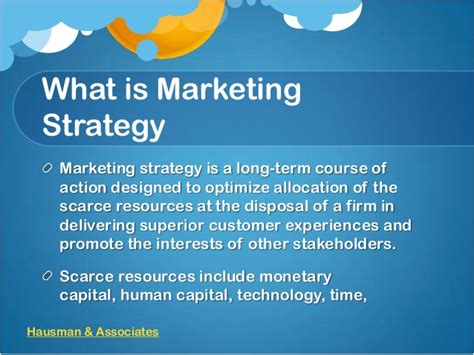What Is An Mba In Strategy by Definition Of Marketing Strategy