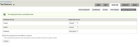 drupal theme webform webform redmine integration drupal org