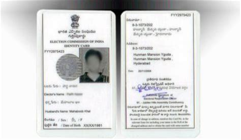 voter id card list of photo identity proof prescribed by indian railways