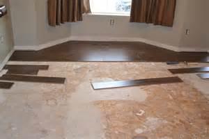 how to put down laminate flooring