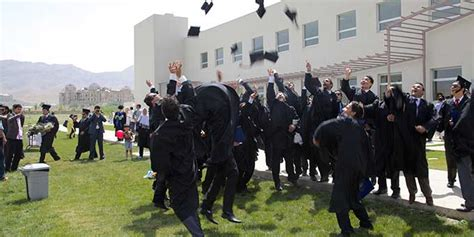 American Afghanistan Mba by Auaf Graduates 3rd Class Of Undergrads 1st Mba Cohort