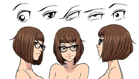 how to draw a bob hair cut sam concept sketches by mongrelmarie on deviantart