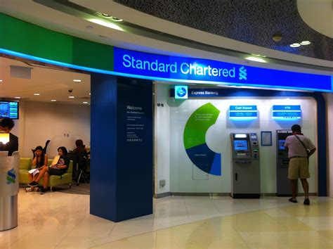standar charted bank standard chartered bank at ion orchard